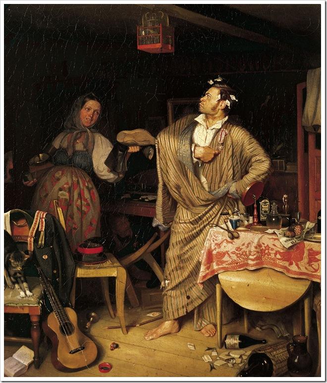 _fedotov svezhy kavaler 1848