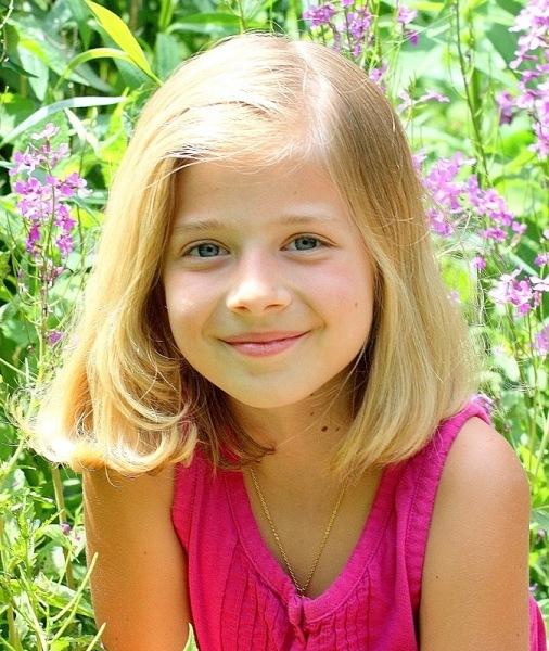Джеки Иванко, в этом году девочке исполнится всего 12 лет. Какой